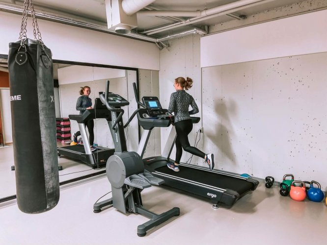 Bømlo Folkehøgskule - treningsrom 2